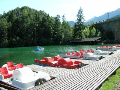 Hotel Schloss Fernsteinsee Bootfahren