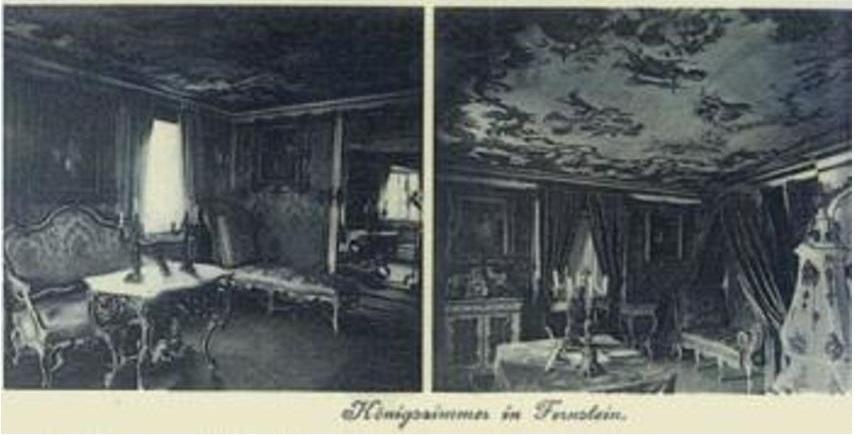 Hotel Schloss Fernsteinsee Zimmer König Ludwig 1885