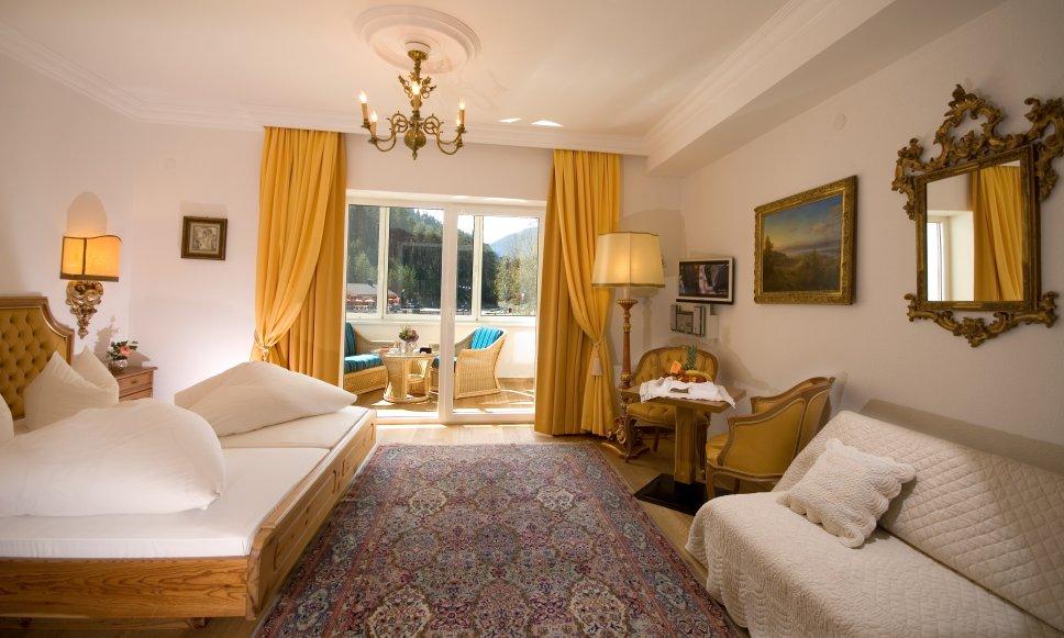 Doppelzimmer mit Lounge Hotel Fernsteinsee