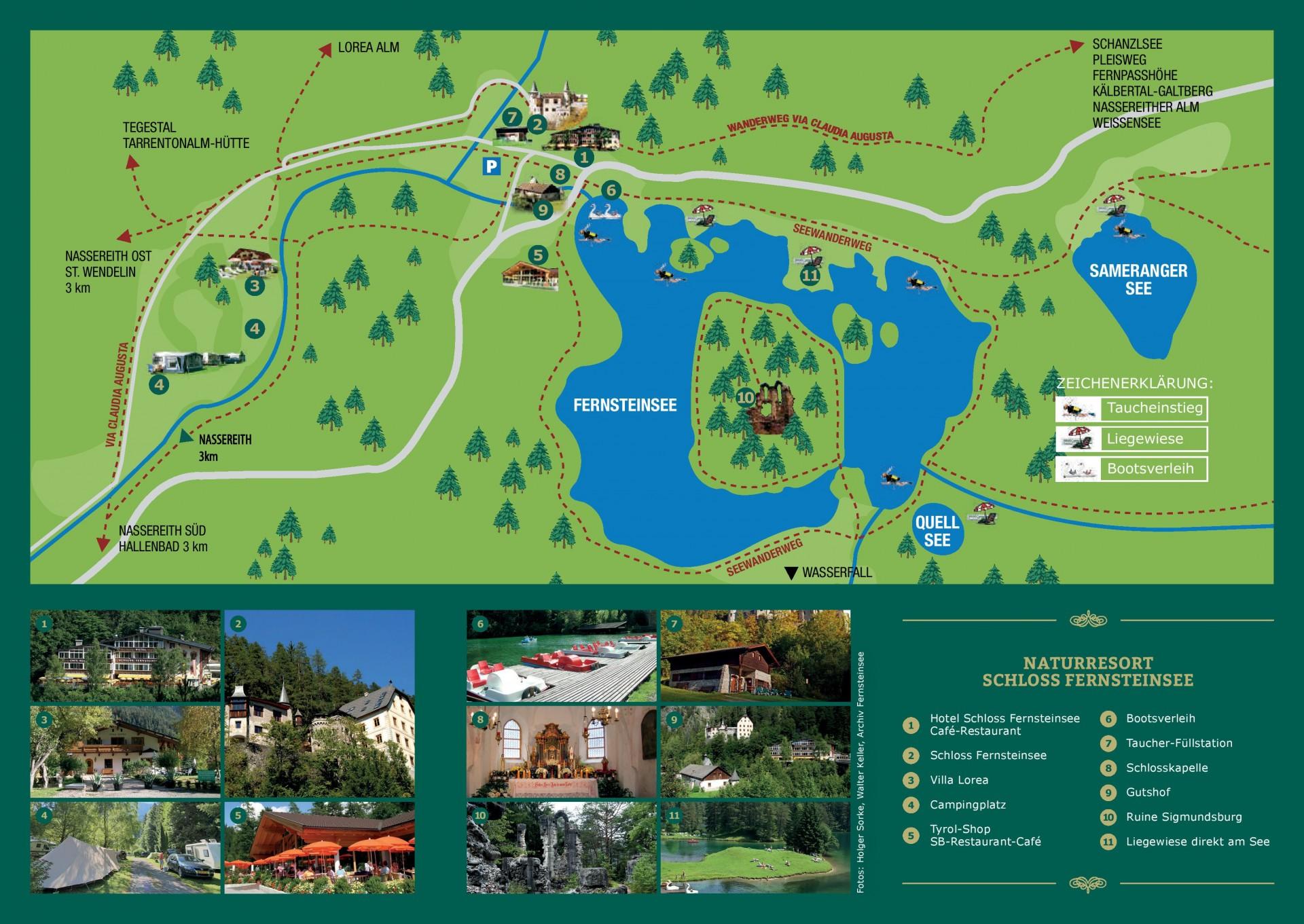 Fernstein Resortplan