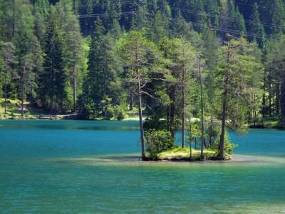 Insel am Fernsteinsee