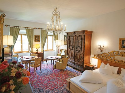Hotel Schloss Fernsteinsee König Ferdinand Suite