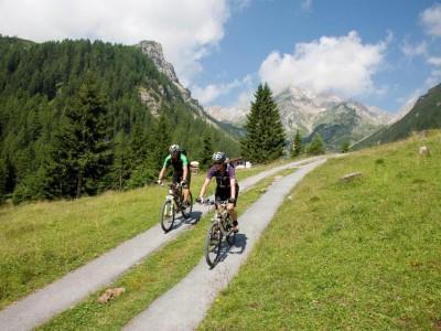 Mountainbiken Naturresort Schloss Fernsteinsee