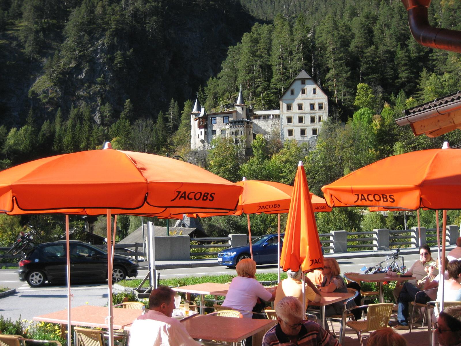 Hotel Schloss Fernsteinsee SB-Restaurant Sonnenterrasse