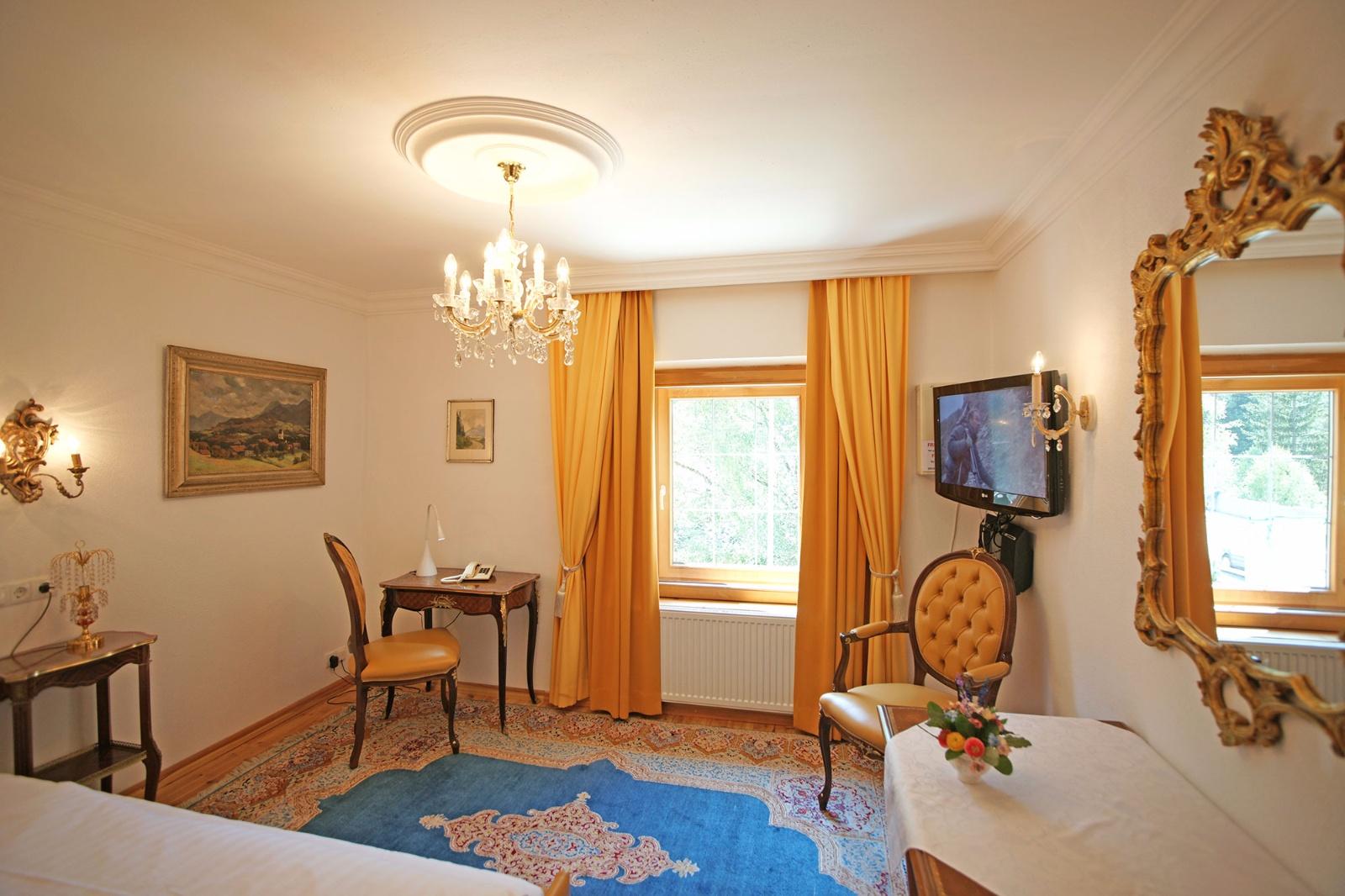 Hotel Schloss Fernsteinsee Einzelzimmer